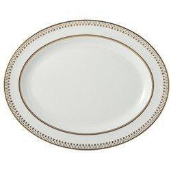 Soleil Levant Oval Platter 15