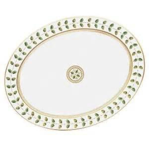 "$719.00 Constance Oval Platter 15"""