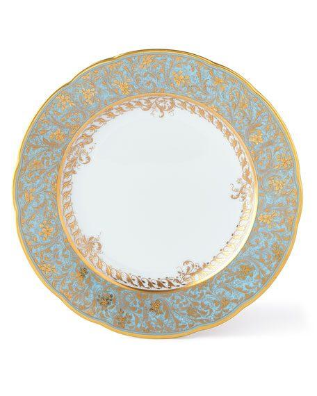 $130.00 Eden Turquoise Bread & Butter Plate