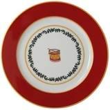 $65.00 Grenadier Accent Salad Plate Red Drum