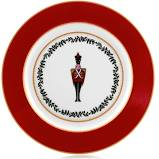 Grenadiers Accent Salad Plate Red Soldier collection with 1 products