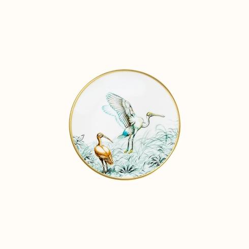 Hermés   Carnets d\'Equateur Bread & Butter Plate Bird Theme $130.00
