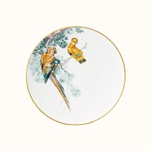 Hermés   Carnets d\'Equateur Dinner Plate Bird Theme $250.00
