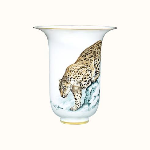 """Hermés   Carnets d\'Equateur Vase 13.8"""" $3,700.00"""
