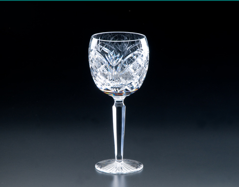 Heritage Irish Crystal   Cathedral Goblet $160.00