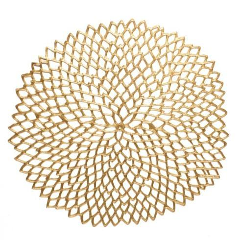 Chilewich   Dahlia Placemat - Brass $10.00