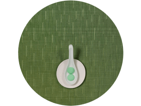 Bamboo Round Placemat - Lawn collection with 1 products