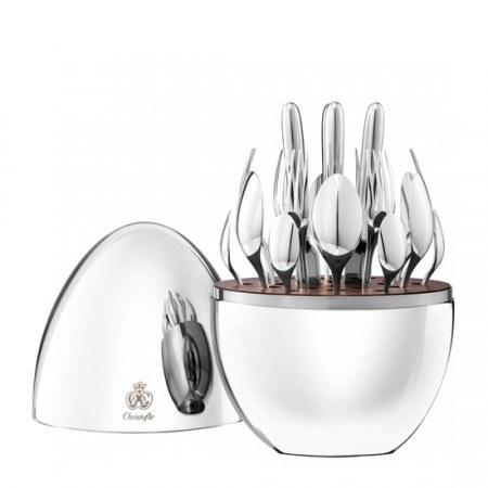 $1,490.00 Mood 24 Piece Silverplate flatware Set