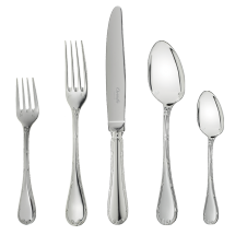 $608.00 Rubans 5 Piece Place Setting Silverplate