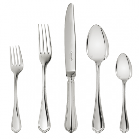 $519.00 Spatours silverplate 5 Piece Place Setting