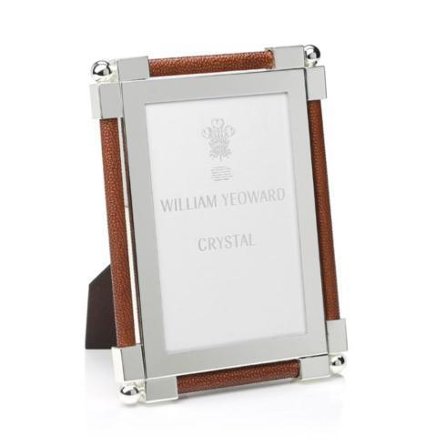 "$280.00 Classic Shagreen Dark Brown Frame - 5""x7"""