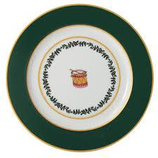 Grenadiers Accent Salad Plate Green Drum collection with 1 products