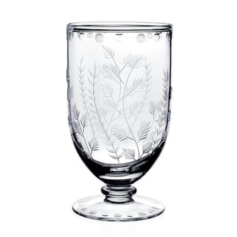 """$295.00 Fern Footed Flower Vase 7"""" / 18cm"""