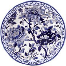 $270.00 Gien Pivoines Bleues Dinner Plate