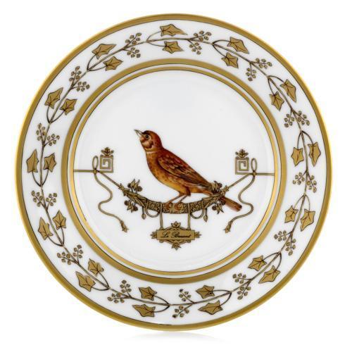 Ginori 1735   Voliere Bread & Butter Plate $125.00