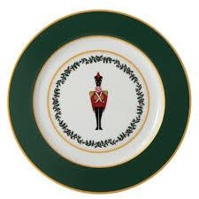 Grenadiers Accent Salad Plate Green Soldier collection with 1 products