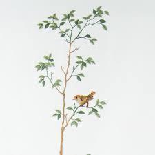 Henry Handwork   Birds & Tree Table Runner $165.00
