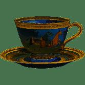 $380.00 Cheval d\'Orient No. 1 Tea Cup & Saucer