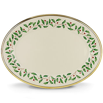 $220.00 Holiday Platter 16""