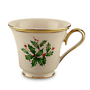 $33.00 Holiday Tea Cup