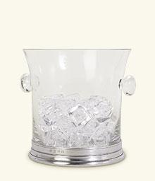 $275.00 Crystal Ice Bucket With Handles