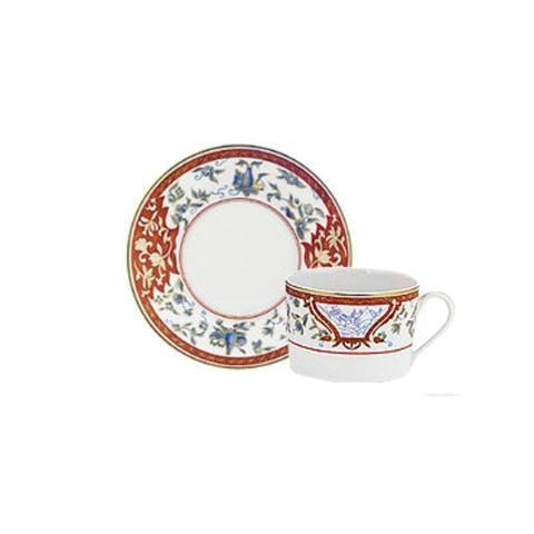 Ivy House Exclusives   Haviland Imari Rouge Tea Cup & Saucer $150.00