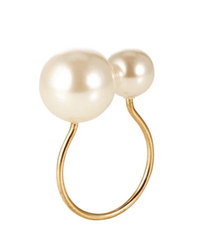 Kim Seybert   Pearl Napkin Ring $16.00
