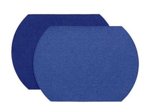 $72.00 Herringbone Placemat Royal/Cobalt set of 4