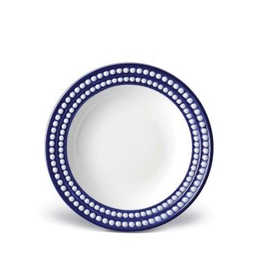 $72.00 Perlee Blue Soup Plate