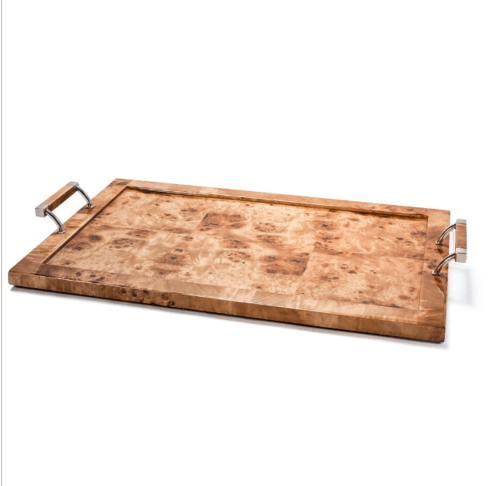 LaDorada   Burl Walnut Serving Tray $410.00