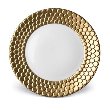 L'Objet   Aegean Gold Charger $350.00