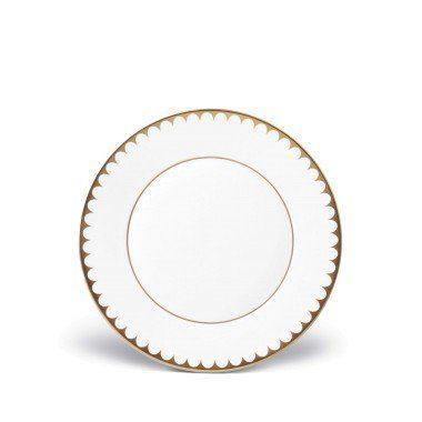 $112.00 Aegean Filet Gold Dessert Plate