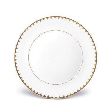 $136.00 Aegean Filet Gold Dinner Plate