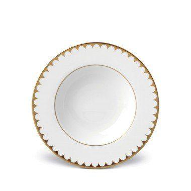 Aegean Filet Gold Rim Soup Plate collection with 1 products