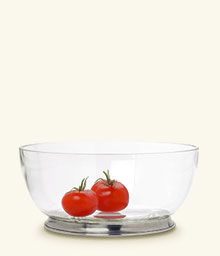Round Crystal Bowl Large collection with 1 products