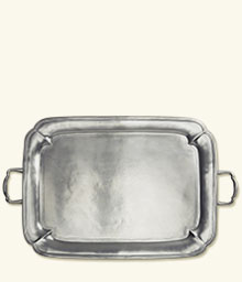 Parma rectangular Tray with handles collection with 1 products