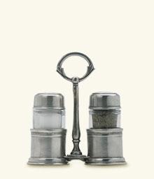 Match   Salt & Pepper Shakers w/Caddy $275.00