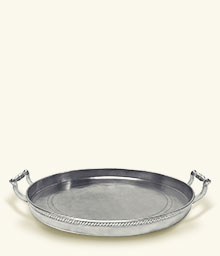 $765.00 Round Gallery Tray