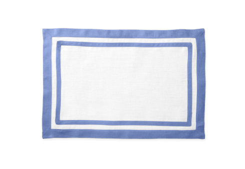 Casual Couture Rectangular Placemat Sky Blue Set/4 collection with 1 products