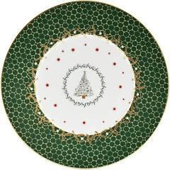 Bernardaud   Noel Accent Dessert Green Tree $68.00