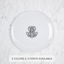 Imagine Salad Plate with Monogram collection with 1 products