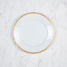 $42.00 Gold Weave Salad Plate