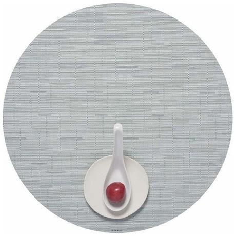 Chilewich   Basketweave Round Placemat - Seaglass $16.00