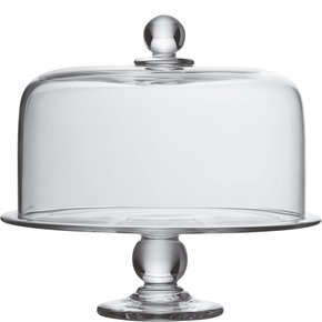 Simon Pearce   Hartland Cake Plate and Dome Set $460.00