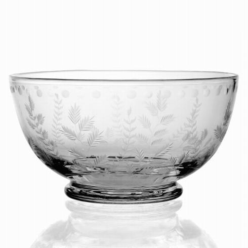 "William Yeoward   Fern Salad Bowl 9"" $325.00"