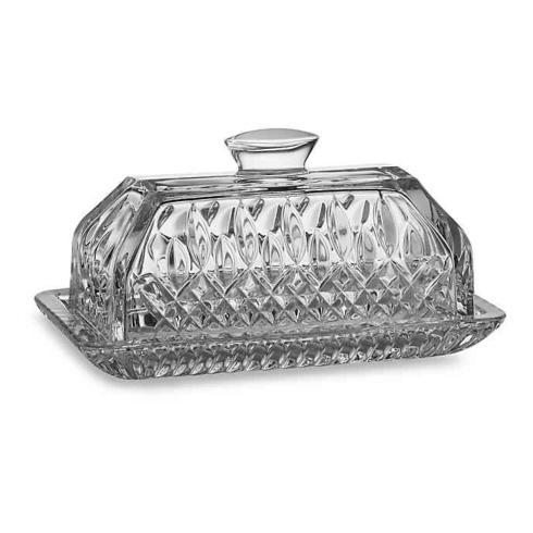 Ivy House Exclusives   Waterford Lismore Covered Butter Dish $155.00
