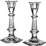 """William Yeoward   Esme Pair of Candlesticks 7""""/18 cm $195.00"""