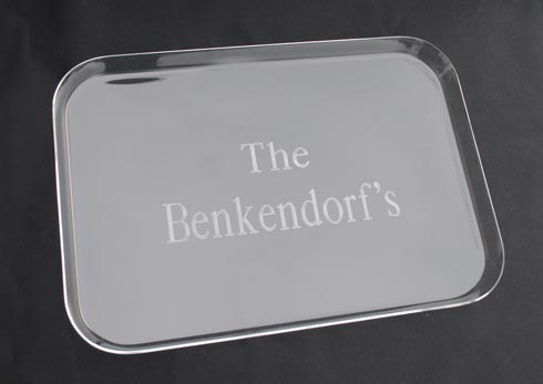 $44.00 Rectangle Tray