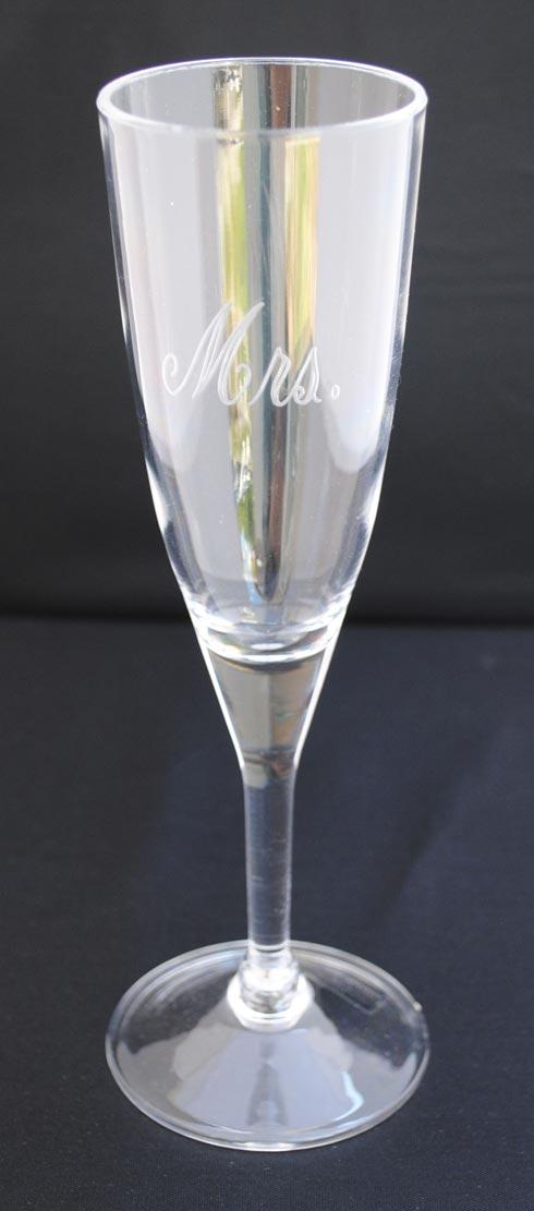 $10.00 6oz Champagne Flute