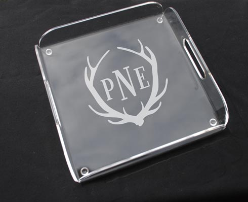 $68.00 Square Butler Tray